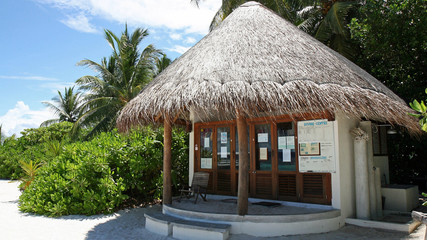Diving center, Kandoludu, Maldives