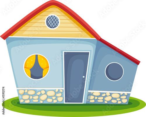 Fotobehang Indiërs house