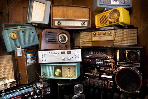 Leinwandbild Motiv Radio's