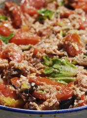 Caponata - piatto ligure a base di verdure
