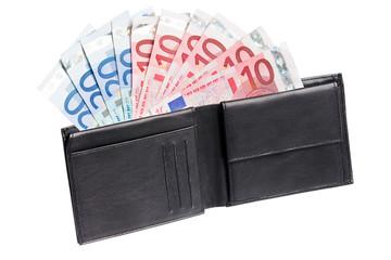 money in a purse