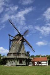Windmühle bei Kerteminde