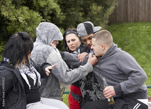 Gang Of Youths Fighting - 15935521