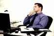 Businessman Thinking (Stress)