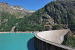 Diga di Place Moulin, Valle d'Aosta - Dam Place Moulin Italy