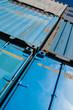 Perspektivischer Containerstapel