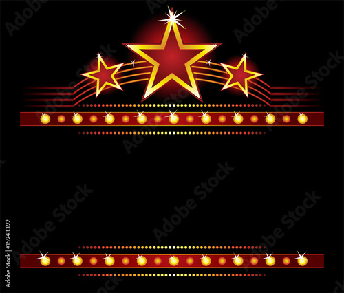 Gwiazdy nad copyspace