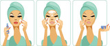 Daily skincare poster