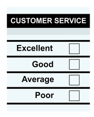 Customer Service feedback form