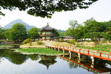 Cesarz pałacu w Seulu