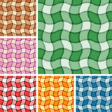 Collection of seamless plaid patterns. Volume 15 poster