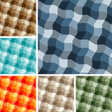 Big collection of seamless plaid patterns. Volume 13 poster