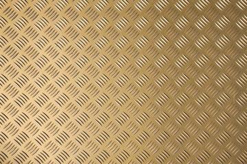 goldfarbenes Riffelblech mit Lichtverlauf