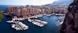 Fontvieille disrict and harbor