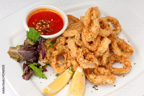 Delicious Fried Calamari