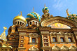 The Church of the Savior on Spilled Blood in St. Petersburg, Rus
