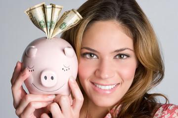 Piggybank Woman