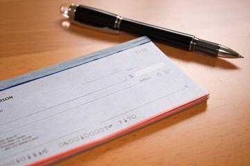 Preparing the check