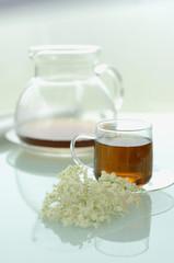 Holunderblüten Tee
