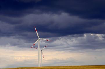 Deutschland, Baden-Württemberg, Schwäbische Alb, Windkraftanlagen