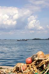 Panorama della laguna di Grado