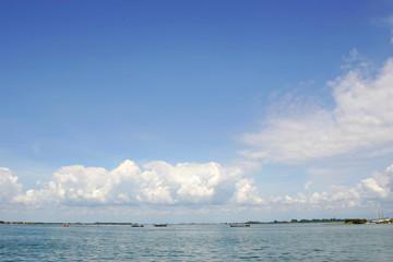 Panorama della laguna