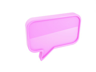 Pink Chat Box