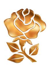 ゴールドの薔薇