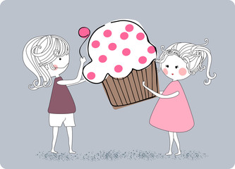 lovers of cupcake