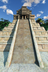 Mayan Temple (vertical)