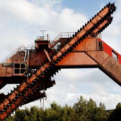 Impressionen der Zeche Zollverein in Essen.