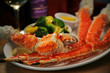 Crab Legs & Claw, Veggies, Butter, Wine - 15998561