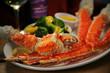 Crab Legs & Claw, Veggies, Butter, Wine - 15998561