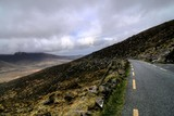 Road in hills of Dingle peninsula poster