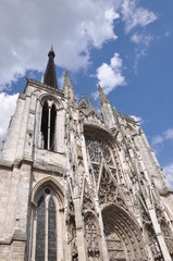 Rouen Cathedral Normandy Northern France