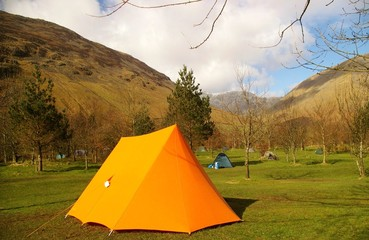 Caping Tent in the Lake District
