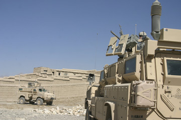 MRAP Armored Vehicles in Afghanistan