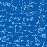 Repeatable seamless math pattern