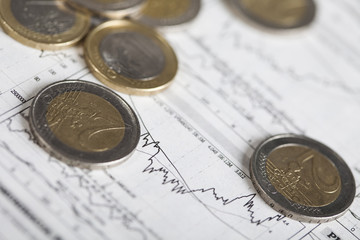Financial indicators & Euro coins