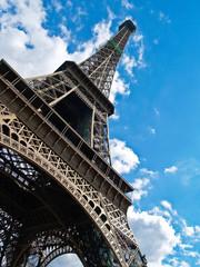 Eiffel Tower diagonal.