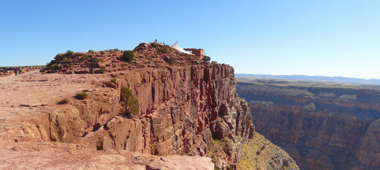 Red Rock at Grand Canyon Panorama