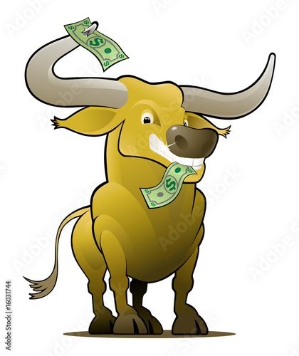Yellow Bull as a Stock Market Player