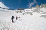 Fototapeta scialpinismo