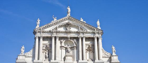 Statuary on Venetian Church