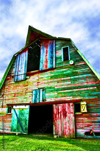 Colorful Barn