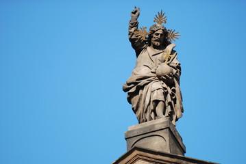 Figur in Prag