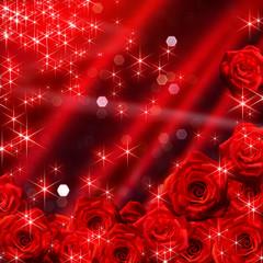 薔薇のイルミネーション