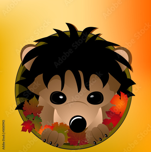autumn hedgehog