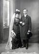Brautpaar 1912 - bridal couple 1912