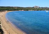 Sardegna - Palau, Spiaggia del Golfo delle Saline poster